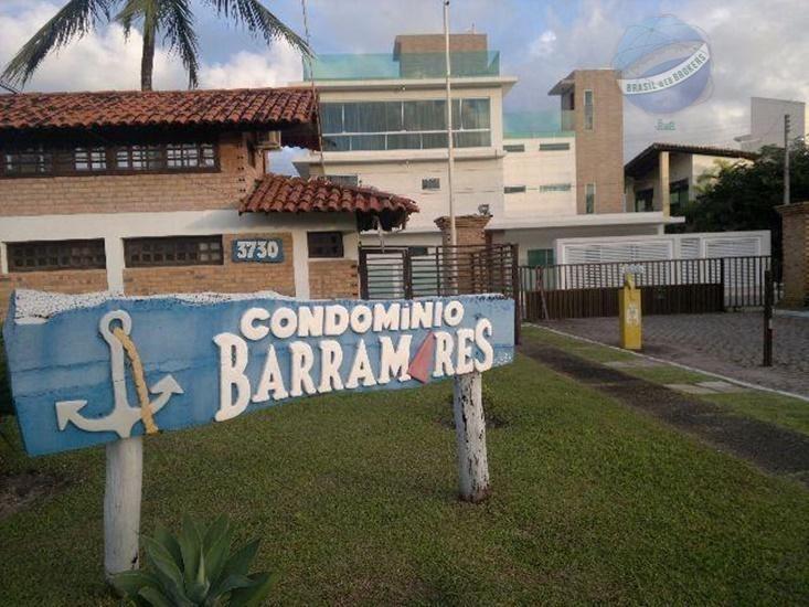 lote beira mar em cotovelo, 360m² em condomínio fechado - condomínio barramares - te0012