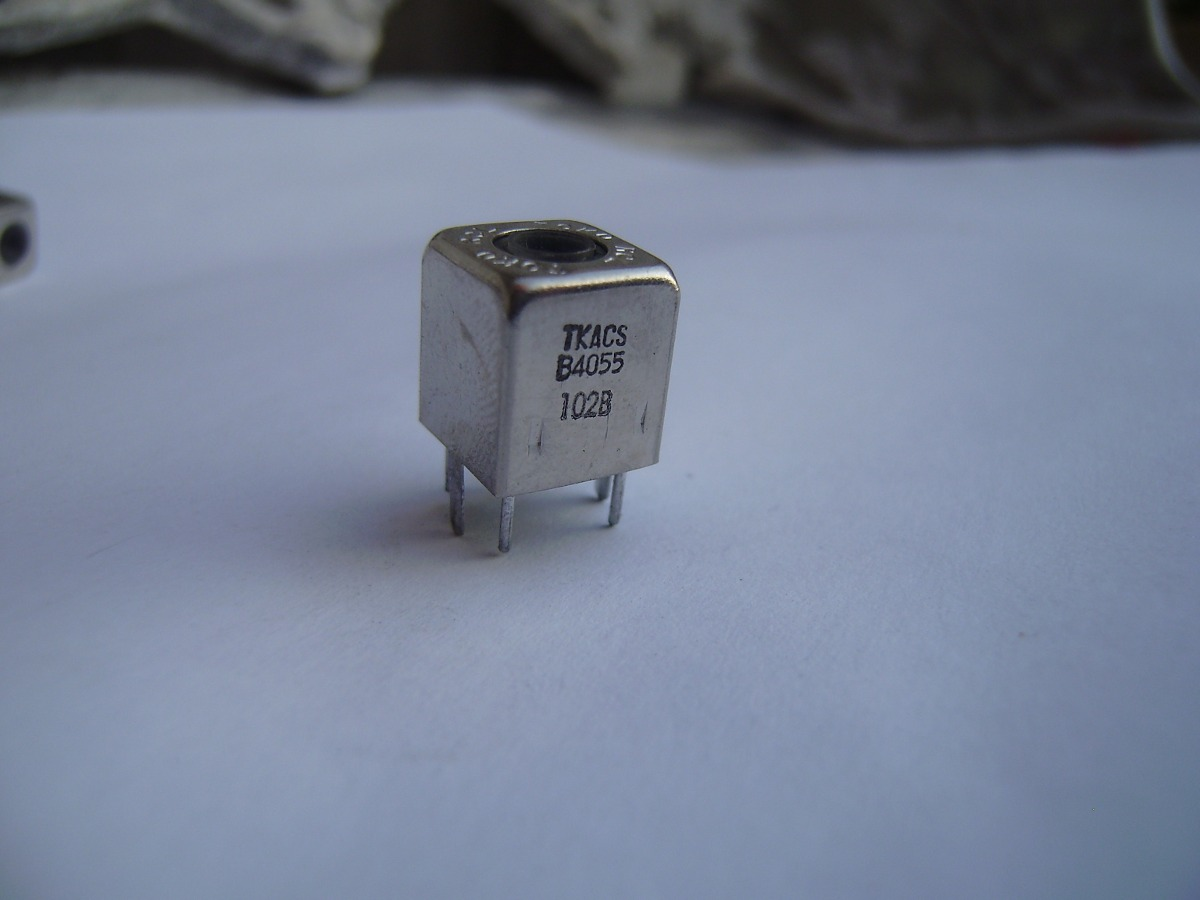 Inductor 07HCP-821K-50-1 un. Cable; THT; 820uH; 360mA; 1.56Ω; ± 10/%; Pitch..
