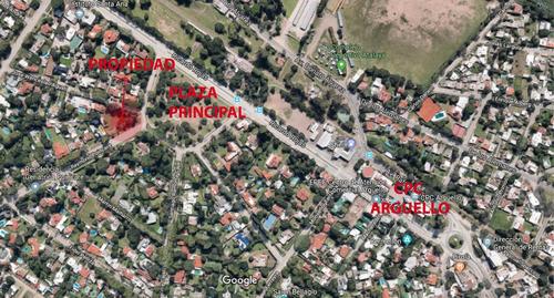 lote bomba para 8 housing o duplex  frente a plaza arguello en venta !!!
