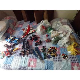Lote Brinquedos Lego E Várias Peças Par Montar
