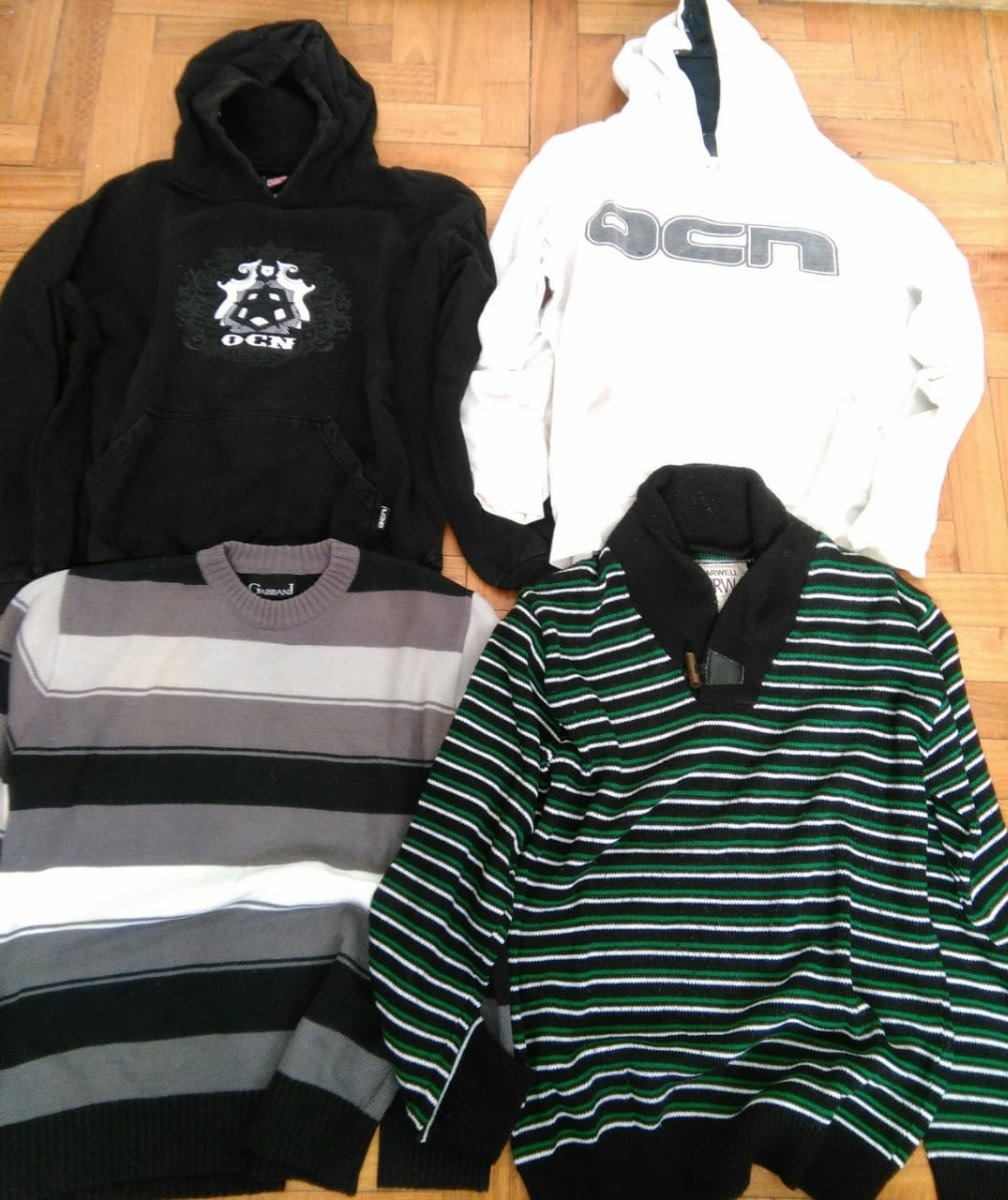 de074344b5b14 lote buzos y sweters - hombre - ideal feria re venta. Cargando zoom.