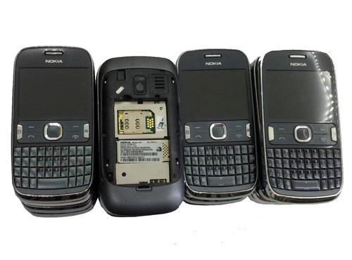 lote c/ 18 un. celular nokia 302 no estado