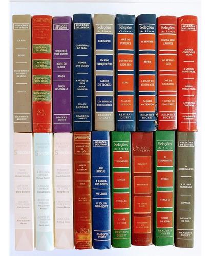 lote c/ 19 livros das seleções reader`s digest - literatura