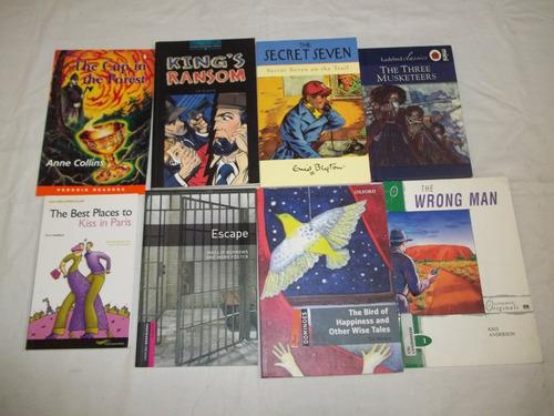 lote c/ 33 livros paradidaticos em ingles titulos nas fotos
