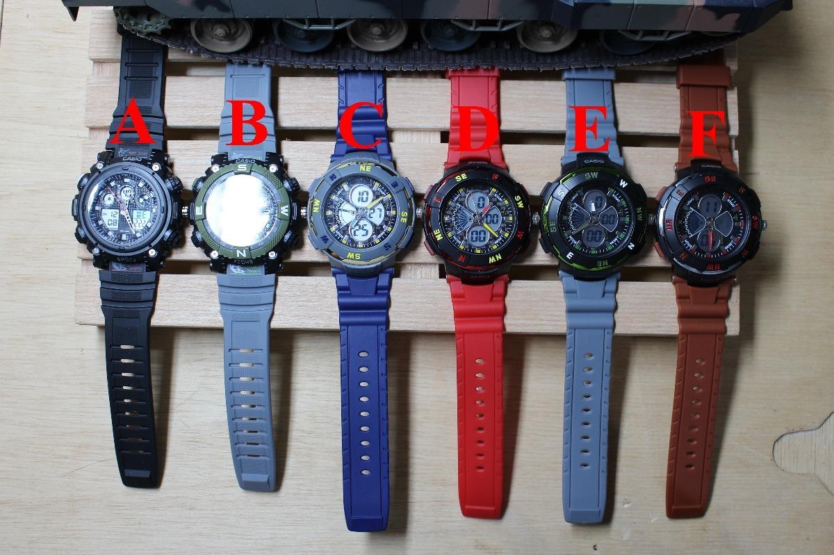 bd649b4dd1d1f Lote C 10 Relógios Casio Esportivo Digital Atacado E Varejo - R  899 ...