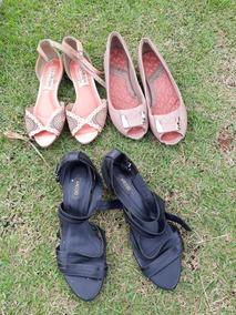 30a419f7b Sapatos Arezzo Dumond Ramarim Andarella Feminino - Sapatos no ...