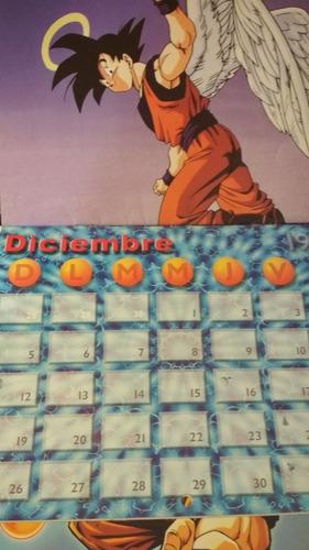 lote calendarios dragonball 1998-1999+posters originales
