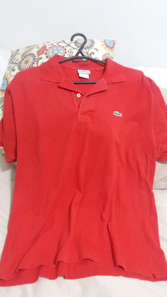 ... 5d3fc00da10 lote - camisas polo- lacoste masculinas - usadas-  originais. Carregando zoom. b7f9798b6ed7f