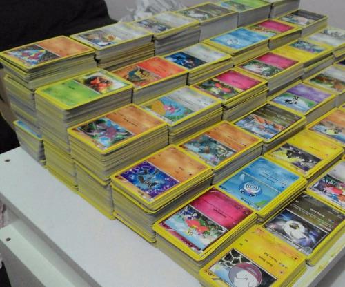 lote cartas pokemon - 100 cartas pokémon + 10 cartas raras