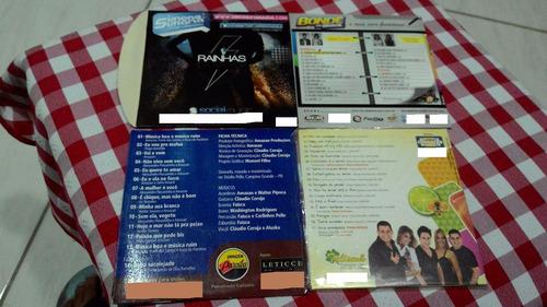 lote cds de bandas de forró top  de linha + frete grátis