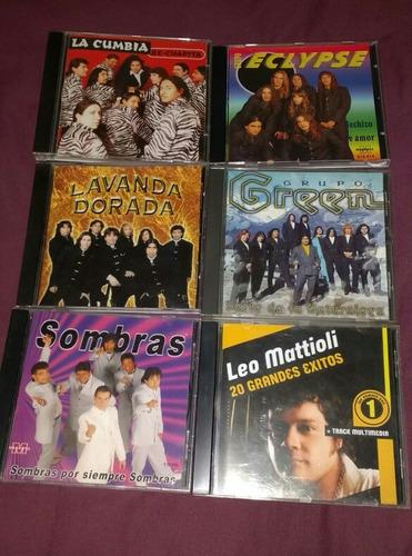 lote cds originales de cumbia