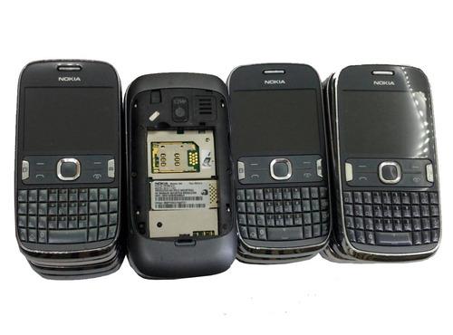 lote celular nokia 302 18 un. no estado