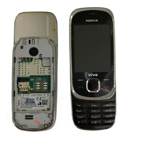 lote celular nokia 7230-1c 82 un. no estado