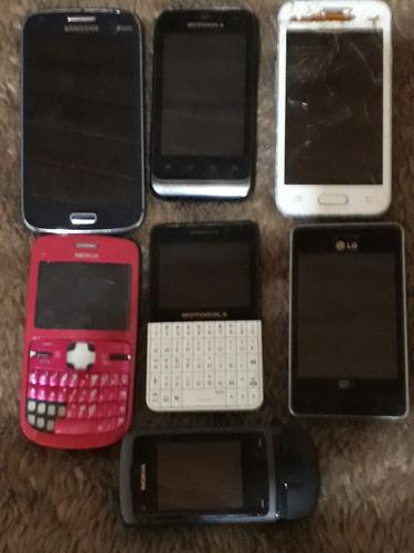 lote celulares para peças