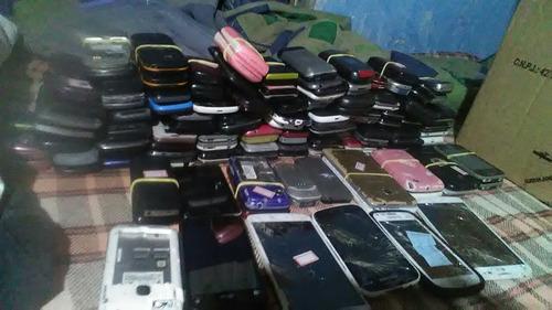 lote celulares samsung e lg leia a descrição