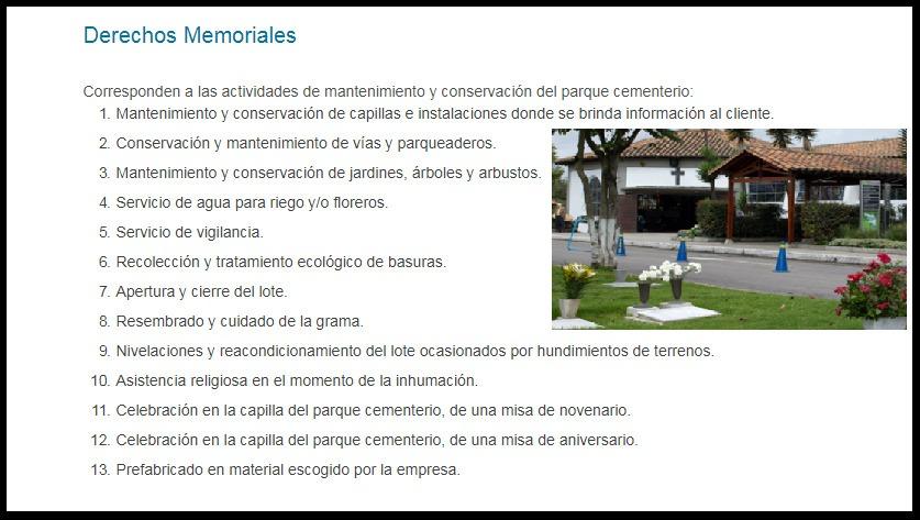 lote cementerio jardines del recuerdo