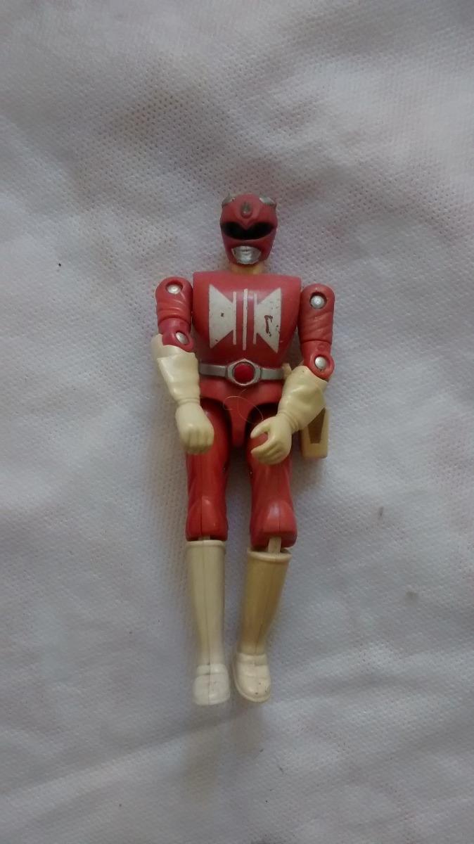 Lote Coleção Power Rangers Super Sentai Vermelho