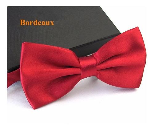 lote com 10 gravatas borboleta c/ regulador  - vermelha