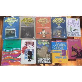 Lote Com 10 Livros Agatha Christie - P/ Leitura, Bibliotecas