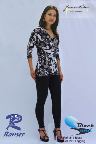 lote com 10 pçs sobre leggings malha fria- estampas variadas