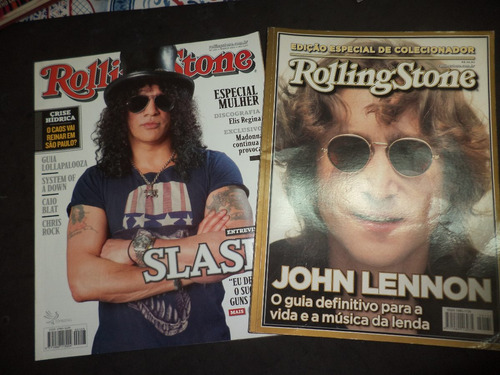 lote com 10 revistas billboard jp rolling stone heavy rock