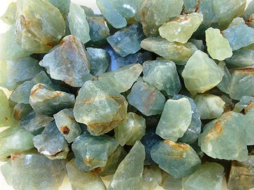 lote com 100 grs de onix argentino (onix azul) natural bruto