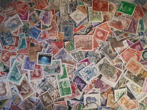 lote com 1000 selos regulares universais (com repetições)