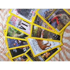 Lote Com 12 National Geographic Colecao