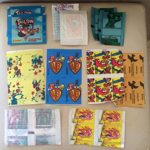 lote com 18 envelopes lacrados - importados