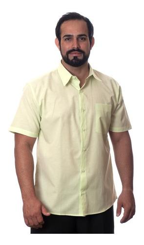 lote com 20 camisas sociais manga curta revender atacado