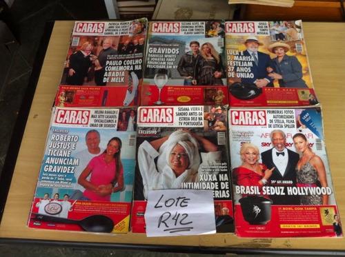 lote com 27  revistas caras oferta frete grátis