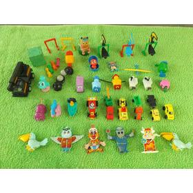 Lote Com 35 Miniaturas Brinquedos Kinder Ovo E Mc Donalds