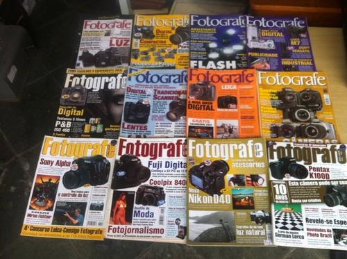 lote com 37 revistas fotografe melhor fotografia outras
