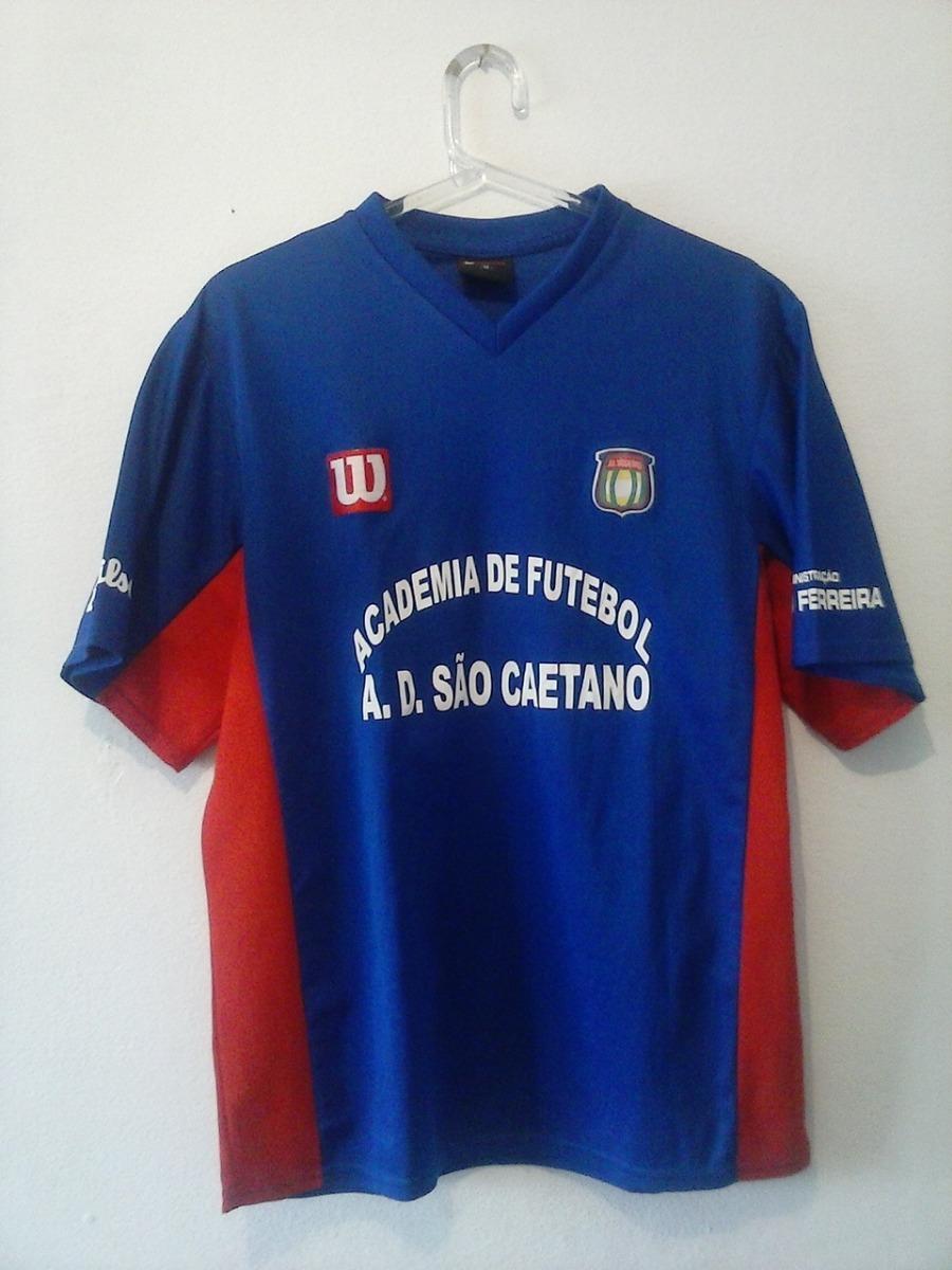 Lote Com 4 Camisas Ad São Caetano Modelo Torcedor - R  40 1d2f9edbf4d9f