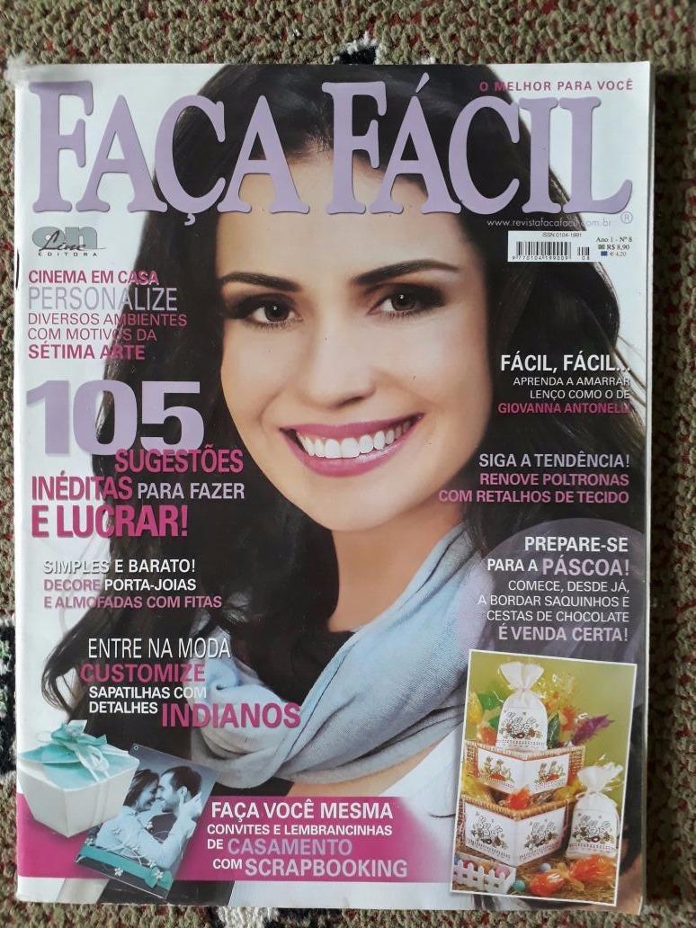 9cfe3f913a lote com 4 revistas faça fácil editoras globo e on line. Carregando zoom.