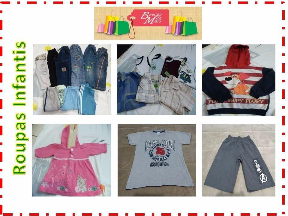 86f06b8c63b lote com 50 peças de roupas usadas p  brechó ou bazar. Carregando zoom.