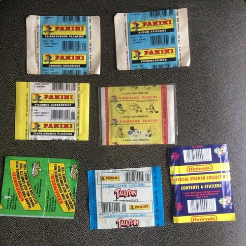 lote com 7 envelopes lacrados - importados