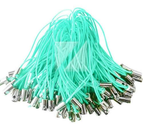 lote com 70 cordinhas celular pen drive chaveiro mp3 - 5cm