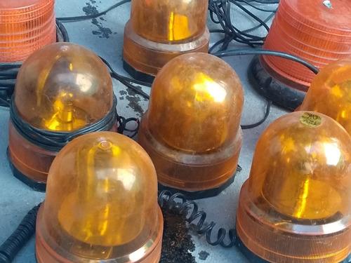 lote com 8 giroflex sinalizador no estado