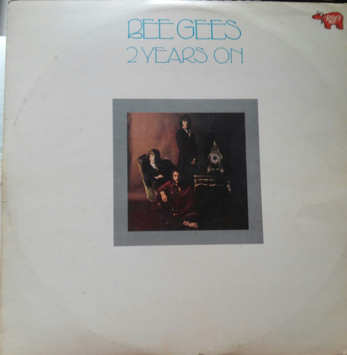 lote com 8 lps dos bee gees