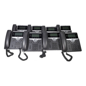 Lote Com 8 Telefones Ip Cisco 7841