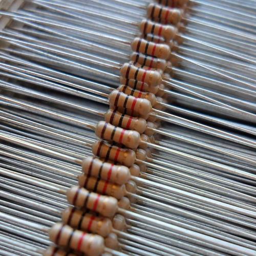 lote com 84 resistores fio 82k5 1/4
