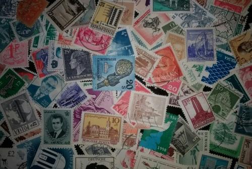 lote com selos (com