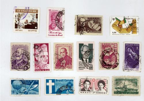 lote com selos nacionais