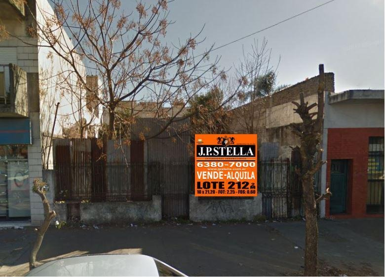 lote comercial 10 x 21,20 sobre avenida - ideal desarrollo comercial - s.justo (ctro)