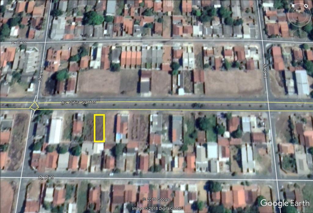 lote comercial (avenida vieira santos) residencial itaipu