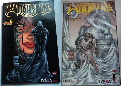 lote comics witchblade 12 numeros ivrea español