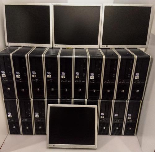 lote computador hp compaq c/tela de 15 polegadas