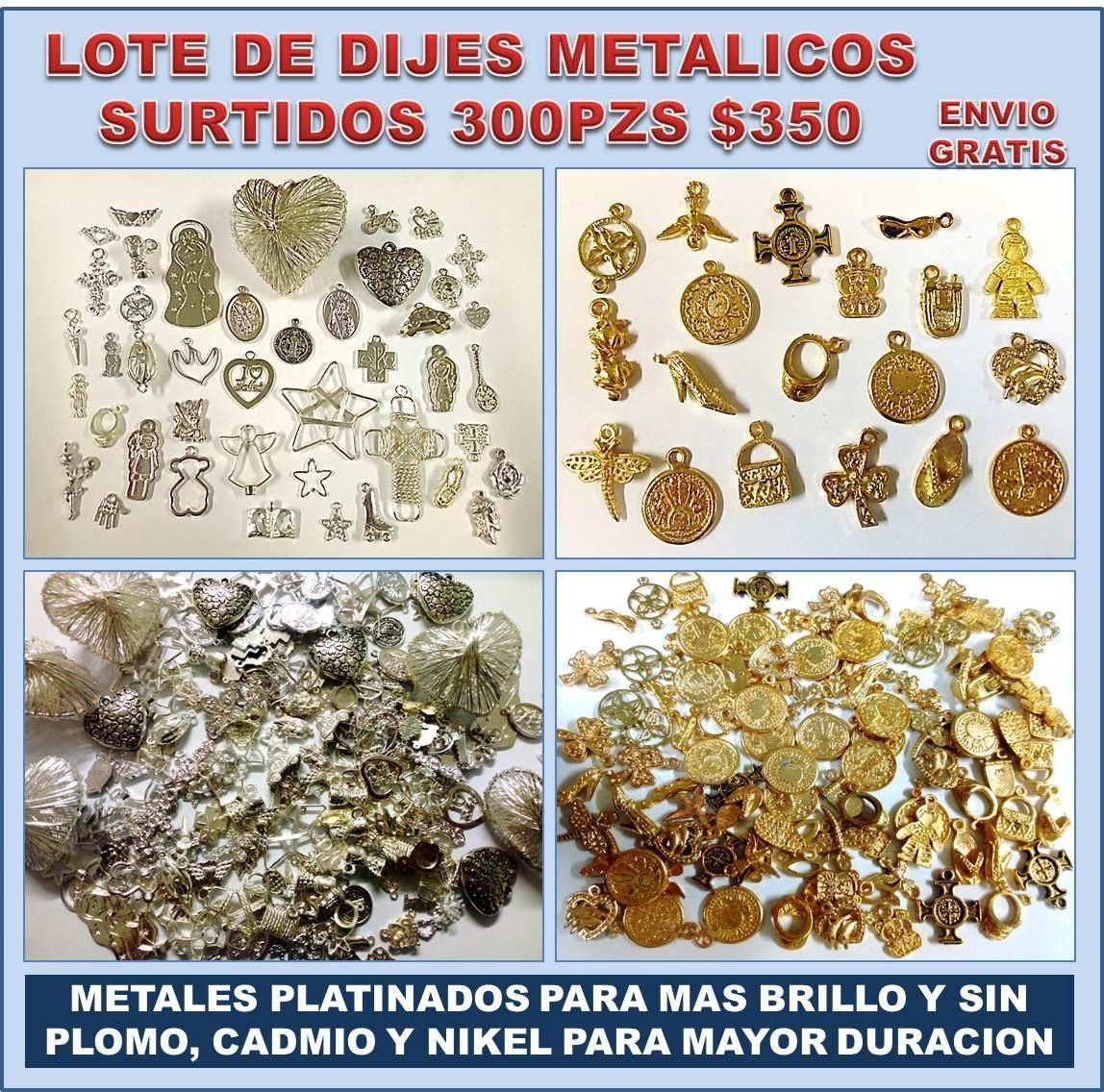 6f4c8a05f0c0 Lote Con 300 Dijes Metalicos Para Joyería Y Bisutería -   350.00 en ...
