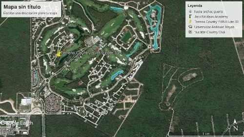 lote con accion yucatan country club en privada